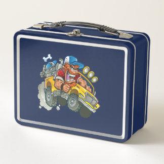 Redneck-Monster-LKW und -bulldogge Metall Lunch Box