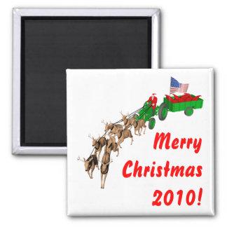 Redneck-Weihnachten Magnete