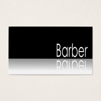 Reflektierender Text - Friseur - Visitenkarte