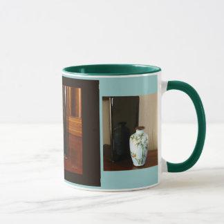 Reflexionen, Cloisonné Vase, Kaffee/Tee-Tasse Tasse