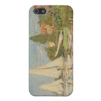 Regatta in Argenteuil (1872) iPhone 5 Case