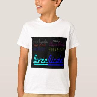 Regelmäßiges Logo Raben-Nicoles und zahlreiche T-Shirt