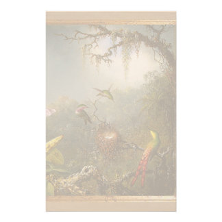 Regen-Waldkolibri-Briefpapier Briefpapier