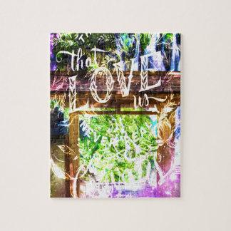 Regenbogen-Bahn zu den diese Liebe wir Puzzle