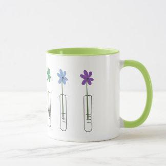 Regenbogen-Becher-Blumen-Kaffee-Tasse Tasse