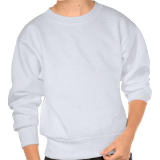 Regenbogen besprüht Süßigkeits-Muster Sweater