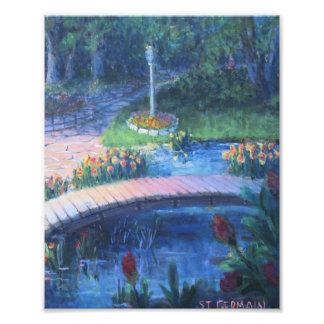Regenbogen-Brücke Fotodruck