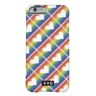 Regenbogen-Einheits-Herz Barely There iPhone 6 Hülle