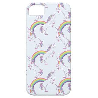 Regenbogen-Einhorn-Telefon-Kasten iPhone 5 Hülle