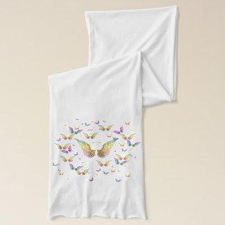 Regenbogen-Engels-Flügel und Halos Schal