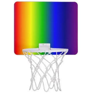 Regenbogen färbt Steigungs-Minibasketball-Ziel Mini Basketball Ringe