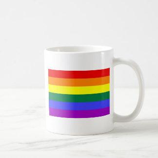 Regenbogen-Flagge Tasse