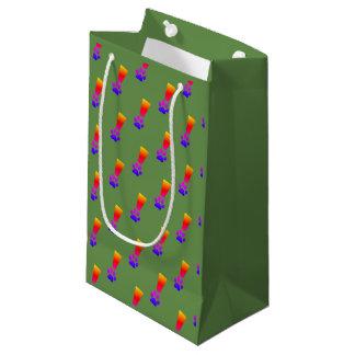 Regenbogen-Geschenk-Tasche Kleine Geschenktüte