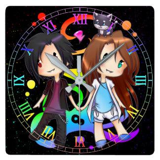Regenbogen-Glück-Uhr Uhr
