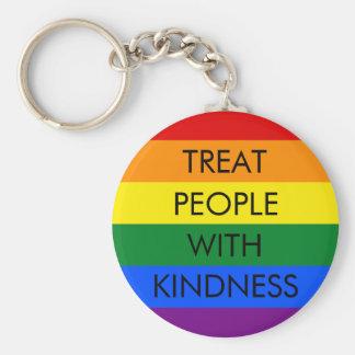 Regenbogen-Güte Keychain Schlüsselanhänger