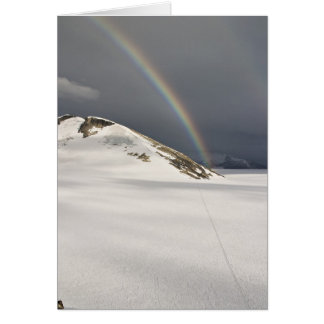 Regenbogen Juneau Icefield auf dem Taku (freier Karte