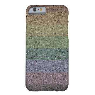 Regenbogen konkreter überzogener iPhone 6 Fall Barely There iPhone 6 Hülle