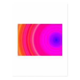 Regenbogen-Kräuselung Postkarten