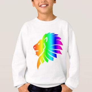 Regenbogen Löwe #2 Sweatshirt