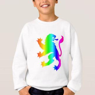 Regenbogen-Löwe Sweatshirt