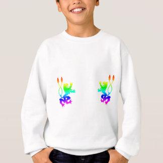 Regenbogen-Löwen Sweatshirt