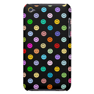 Regenbogen-MehrfarbenSmiley-Muster Barely There iPod Case