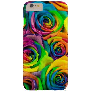 Regenbogen mit Blumen Barely There iPhone 6 Plus Hülle