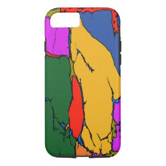 Regenbogen-Muster-Entwurf iPhone 8/7 Hülle