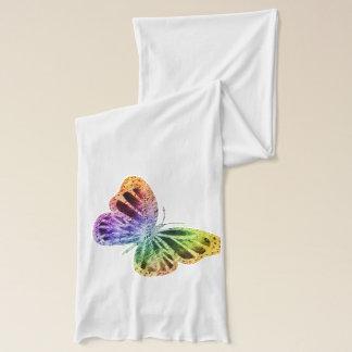 Regenbogen-Schmetterling Schal