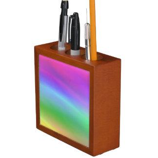 Regenbogen-Schreibtisch-Organisator Stifthalter
