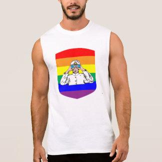 Regenbogen-Seemann Ärmelloses Shirt