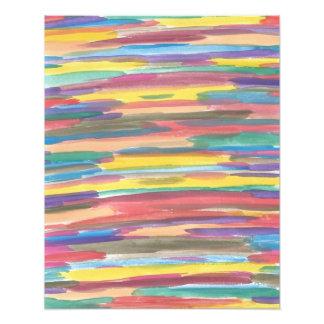 Regenbogen-Spektrum-abstrakter Kunst-Druck Fotodruck