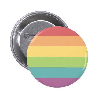 Regenbogen-Stolz-Abzeichen Runder Button 5,7 Cm