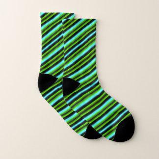 Regenbogen-Streifen - Muster Socken