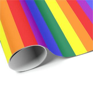 Regenbogen-Themed Gay Pride bunt Geschenkpapier
