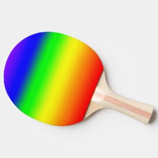 Regenbogen Tischtennis Schläger