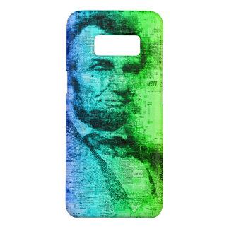 Regenbogen-Typografie USA Präsidenten-Abraham Case-Mate Samsung Galaxy S8 Hülle
