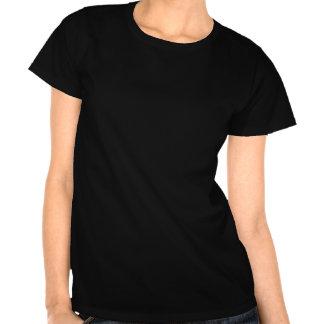 Regenbogen-weißer Musiknoten-T - Shirt
