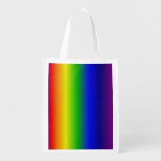 Regenbogen Wiederverwendbare Einkaufstasche