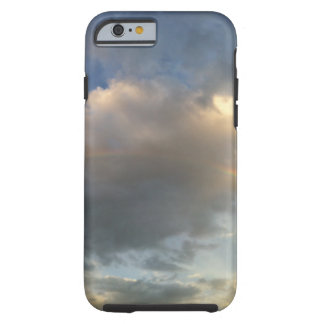 Regenbogen-Wolke Tough iPhone 6 Hülle