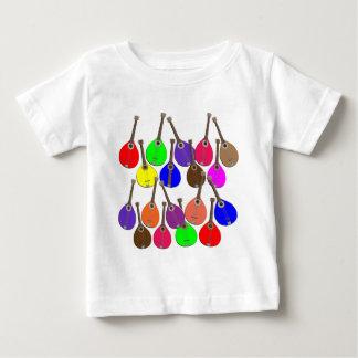 Regenbogenmandoline Baby T-shirt