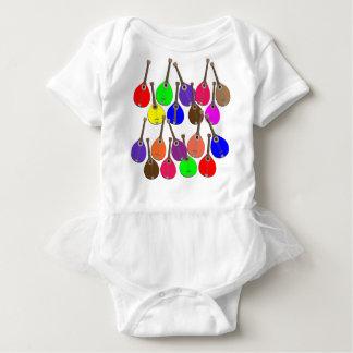 Regenbogenmandoline Babybody