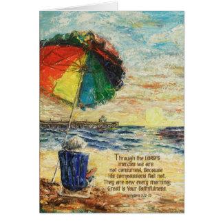 Regenschirm-Sonnenaufgang-Wehklage-3:22 - 23 Karte