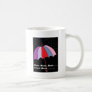 Regenschirm-Thema Kaffeetasse