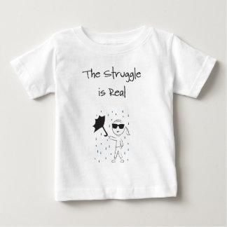 Regenschirm versagen Kampf ist wirklich Baby T-shirt