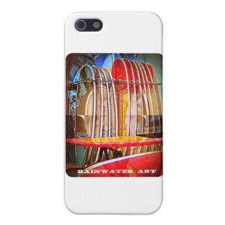 Regenwasser-Kunst-Gewohnheiten iPhone 5 Case