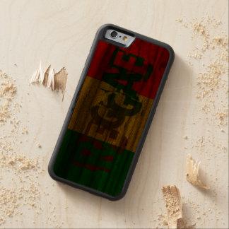 Reggae-Graffitiflagge Bumper iPhone 6 Hülle Walnuss
