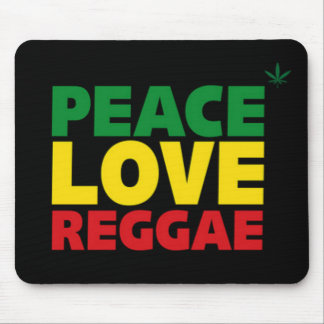 Reggae-Mäusematte Mousepads