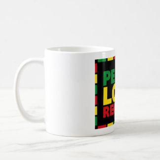 Reggae-Tasse - FriedensLiebeReggae Tasse