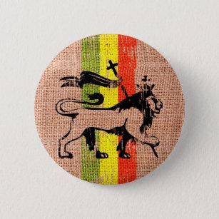 Reggaelöwekönig Button